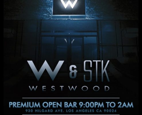 W Westwood Los Angeles New Years Tickets