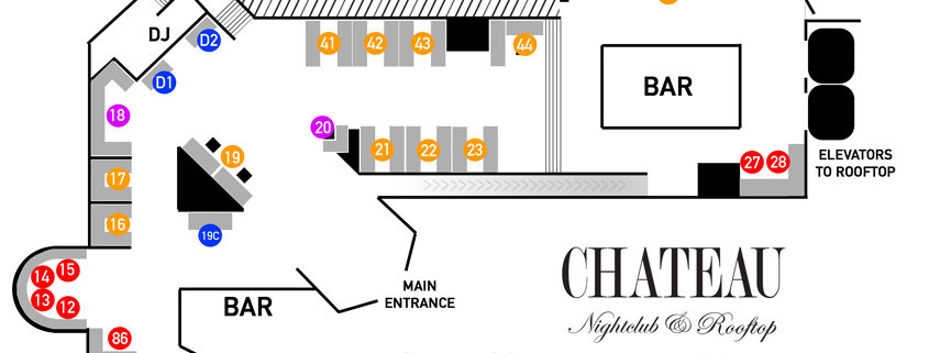 Chateau NYE Main Floor Plan