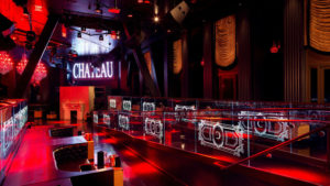 Chateau Nightclub VIP Booths