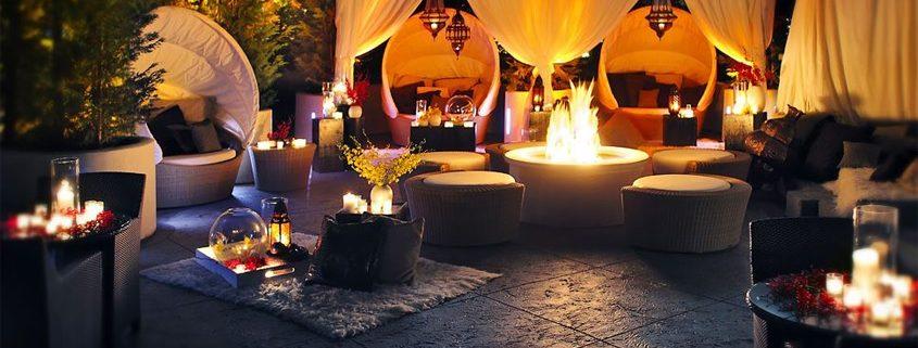 Sofitel Los Angeles Night Cabanas