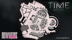 Time Nightclub Floor Plan