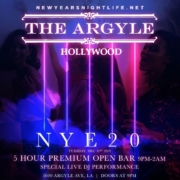 Argyle LA New Years Event