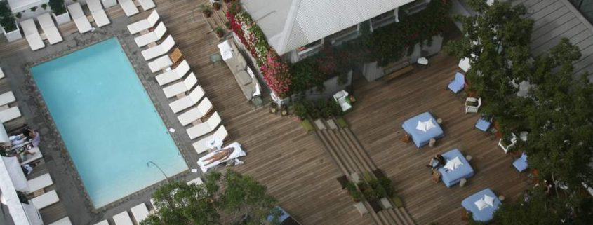 Skybar LA Aerial View