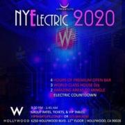 NYElectric W Hollywood NYE 2020
