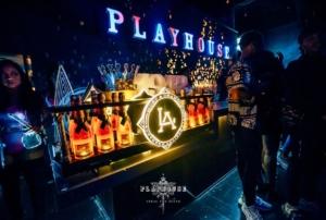 Playhouse Nightclub 12 Bottle Moet for 5K Package