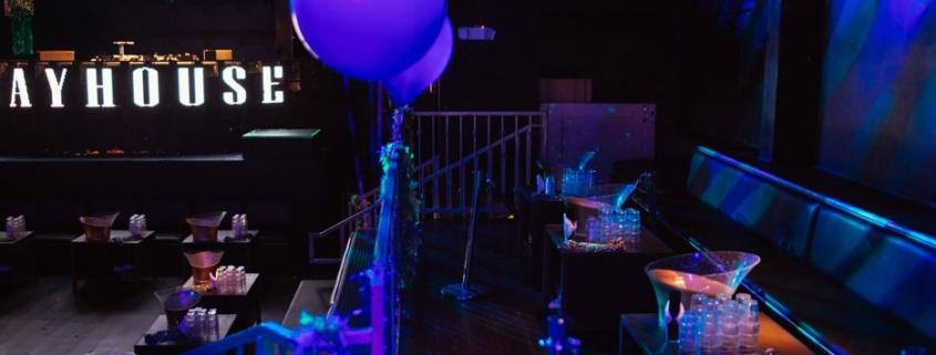 Playhouse Nightclub   Riser Tables