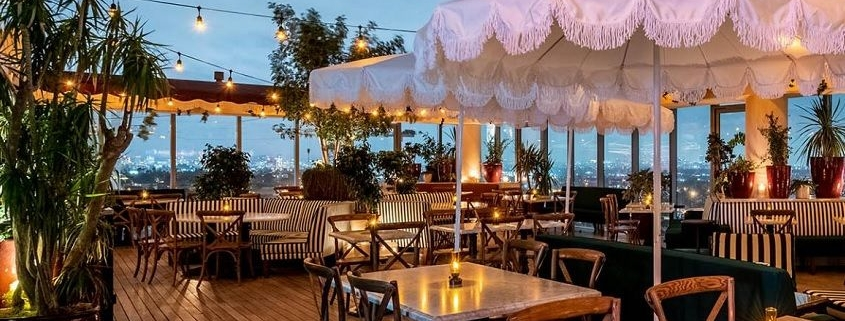 1 Hotel West Hollywood patio