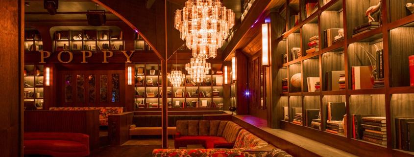 Poppy Nightclub VIP booths